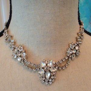 Vintage 1950's Rhinestone Necklace